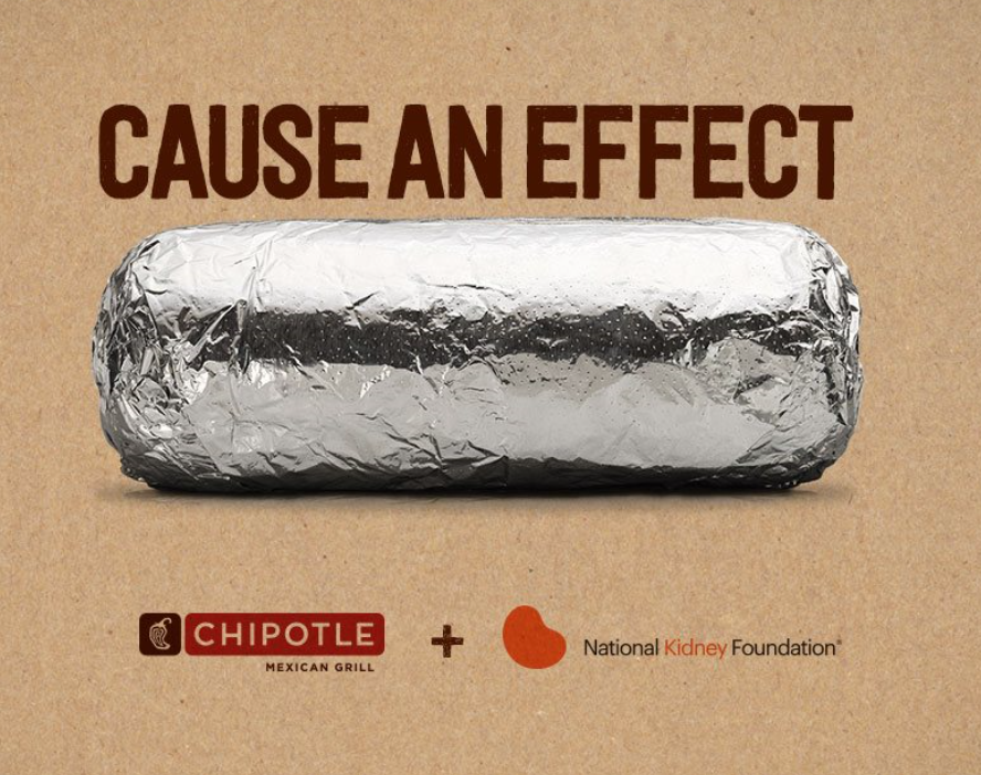 (Credit: Chipotle Mexican Grill & National Kidney Foundation)