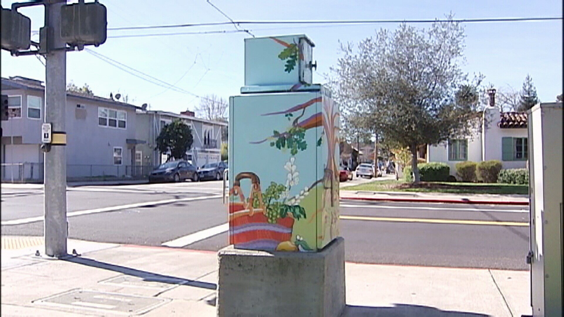 So far, 33 utility city-owned city boxes have been painted. (KSBY photo)
