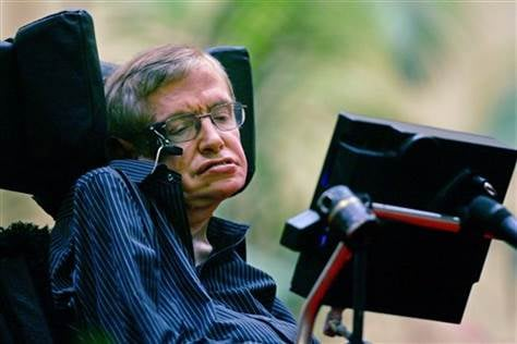 Stephen Hawking. (Photo courtesy: Elizabeth Dalziel / AP)