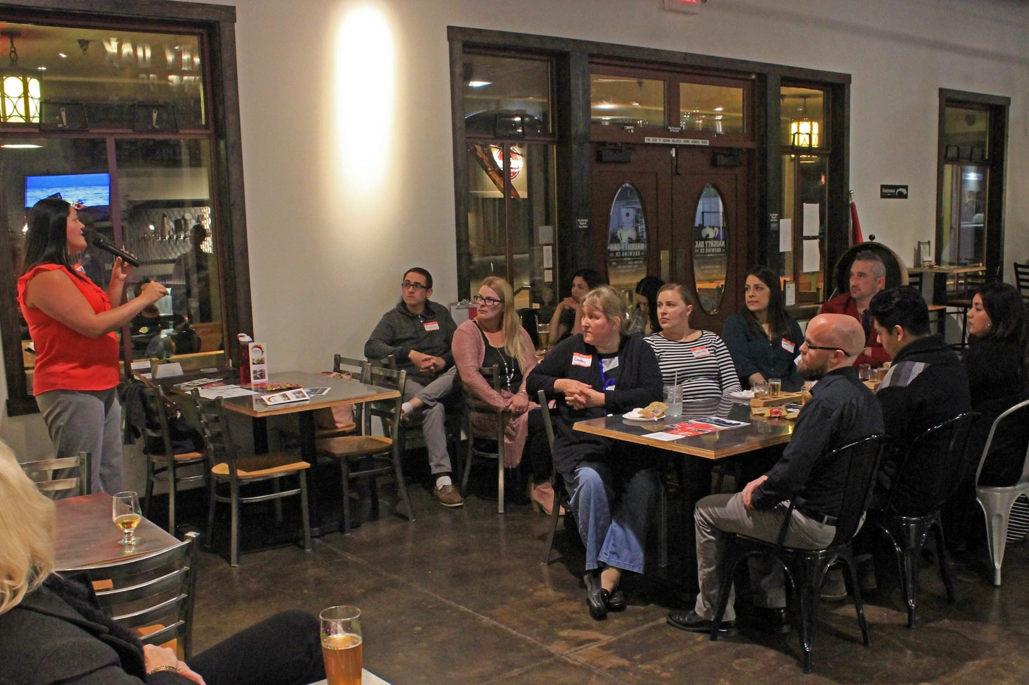 Santa Maria Connect! meets once a month in a different location to help one another brainstorm new ideas. (Photo courtesy of the Santa Maria Valley Chamber of Commerce)