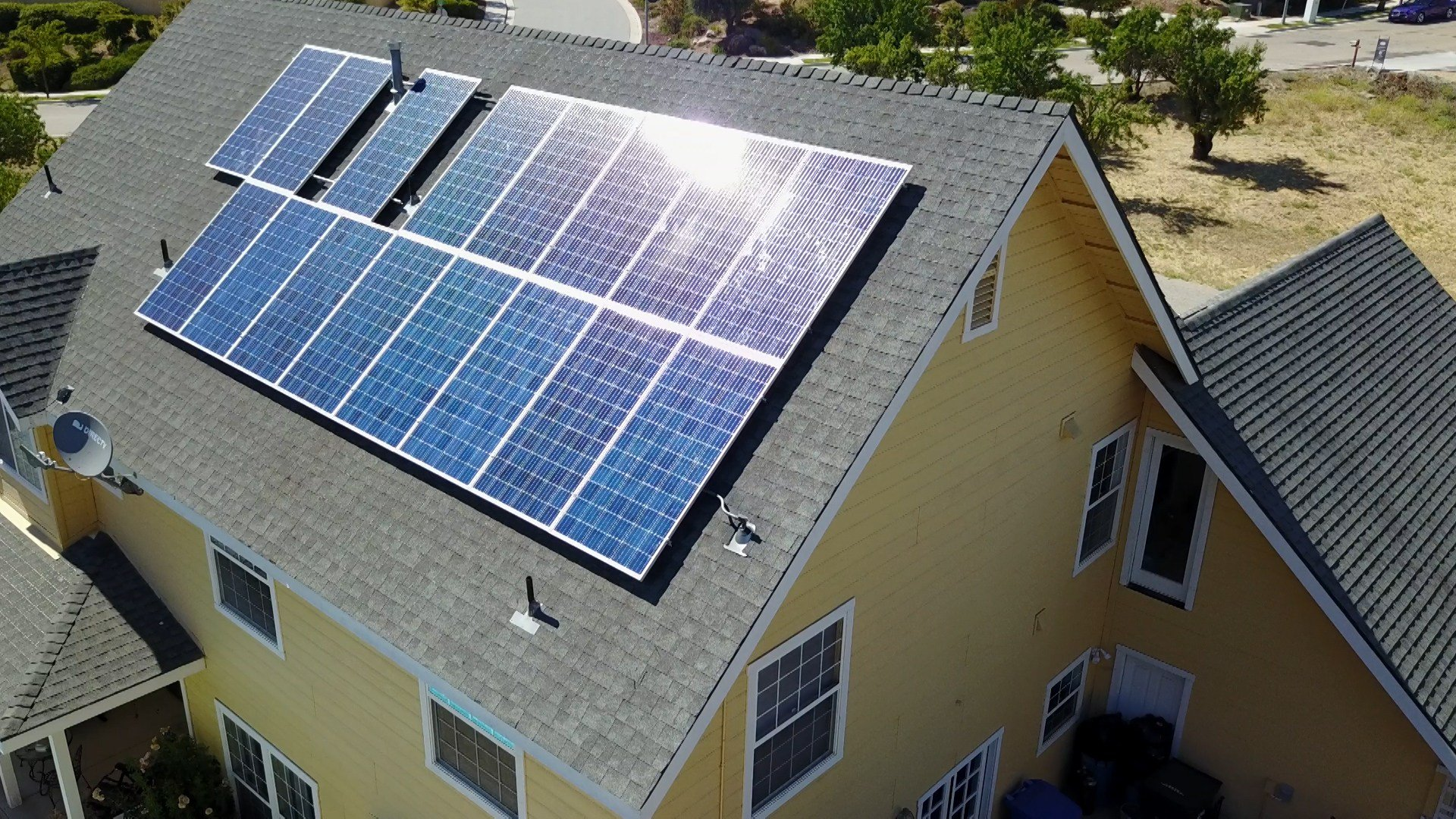 California first USA  state to require solar on new homes