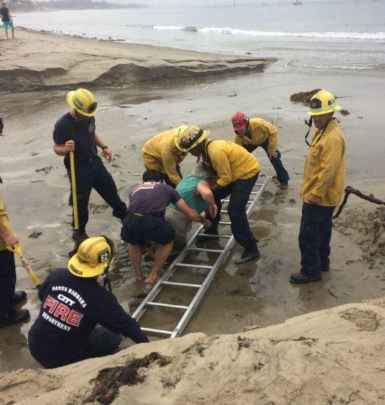 (Credit: Santa Barbara City Fire)