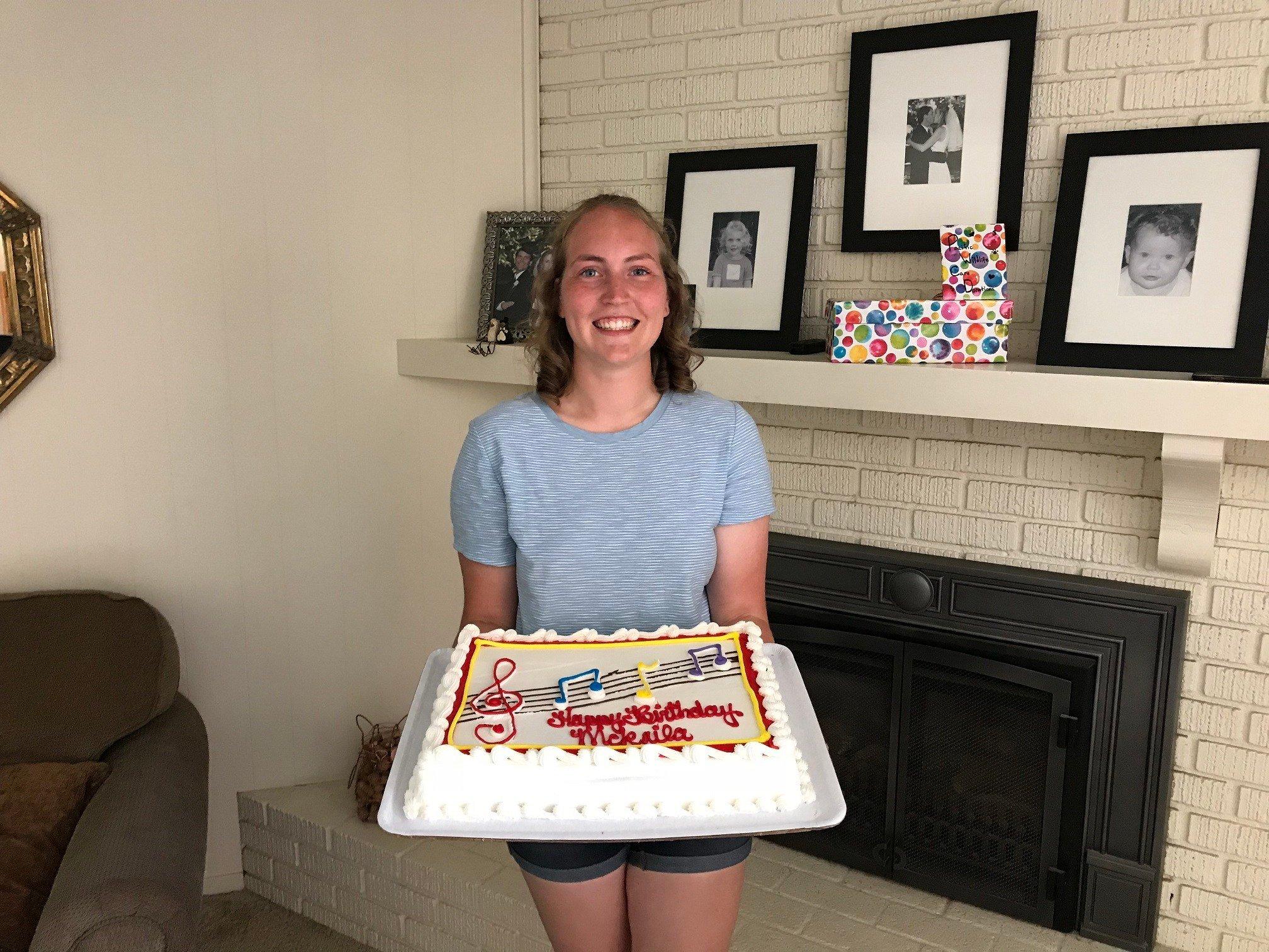 McKalia Lewis celebrates her 17th birthday. (Photo courtesy Kris Lewis)