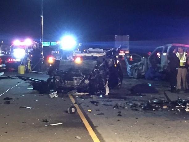 Wrong Way Car Crash Sacramento
