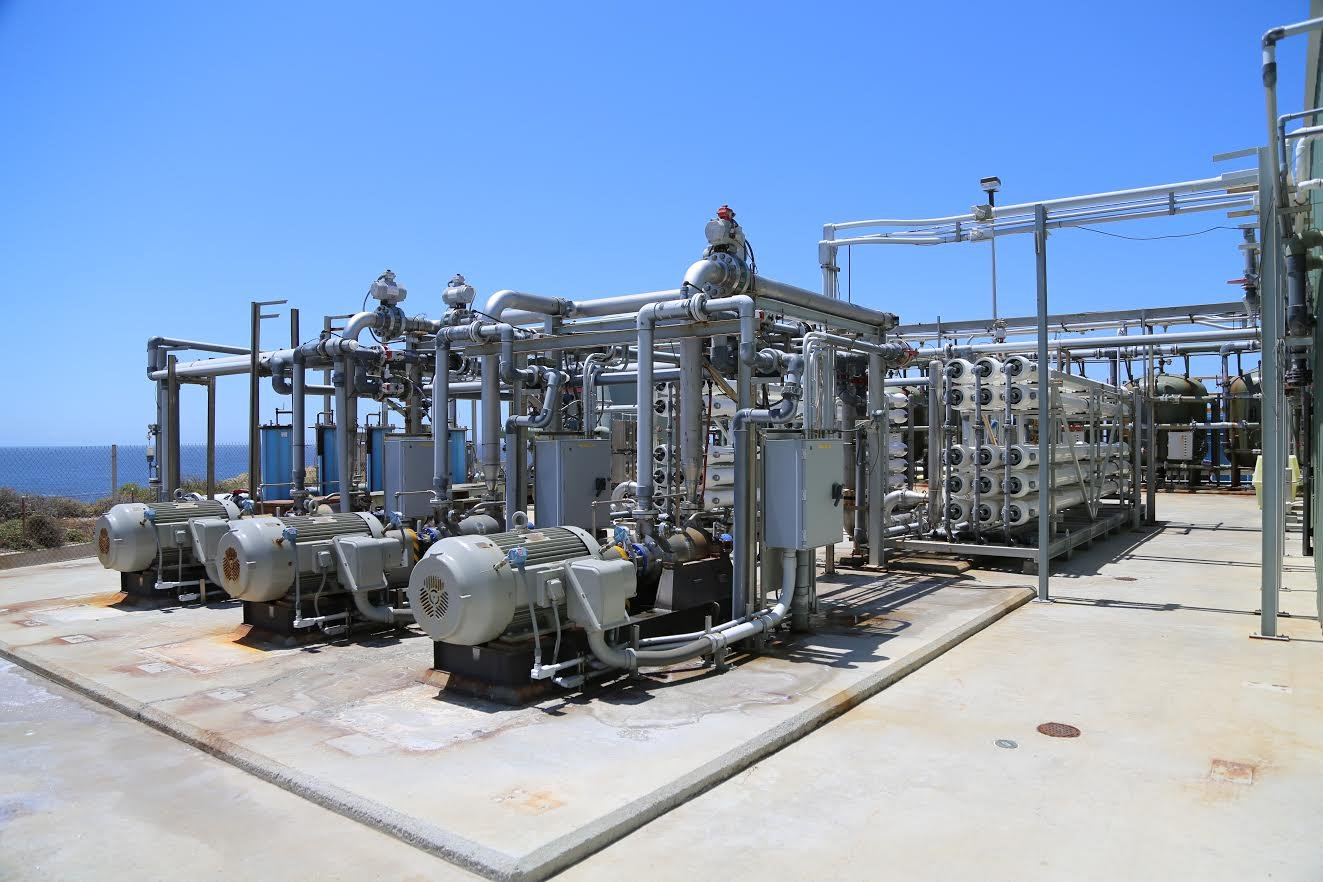 Diablo Canyon Power Plant's desalination facility