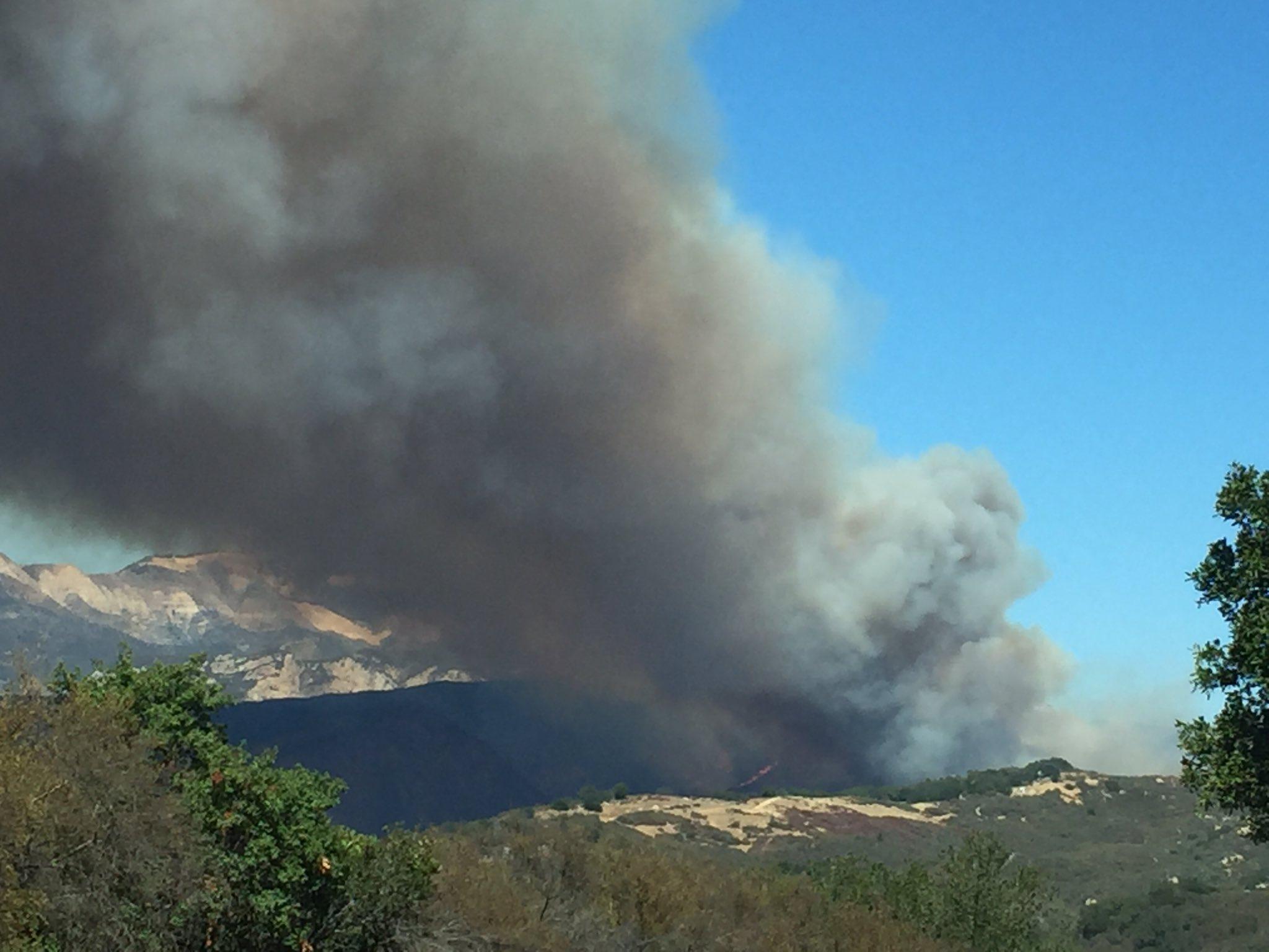 Photo courtesy @EliasonMike/Santa Barbara County Fire/Twitter