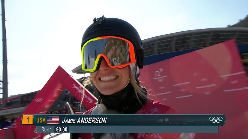 USA's Jamie Anderson soars to silver in big air