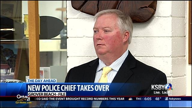 New Police Chief Takes Over