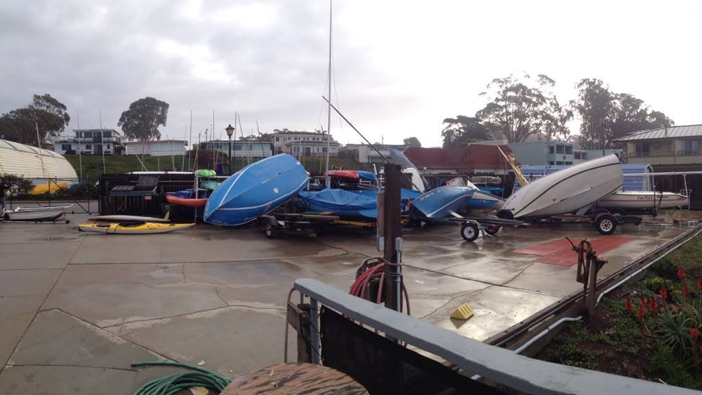 Lynn Meissen Has Lived On Her Boat In Morro Bay Harbor For Years, But She  Had Never Experienced Anything Like The Winds That Blew Through Wednesday  Morning.