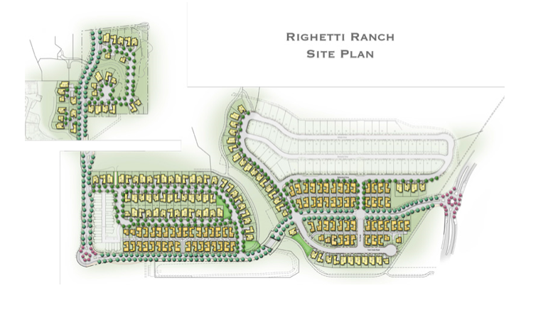 The ranch will include creeks and parks (Williams Homes)