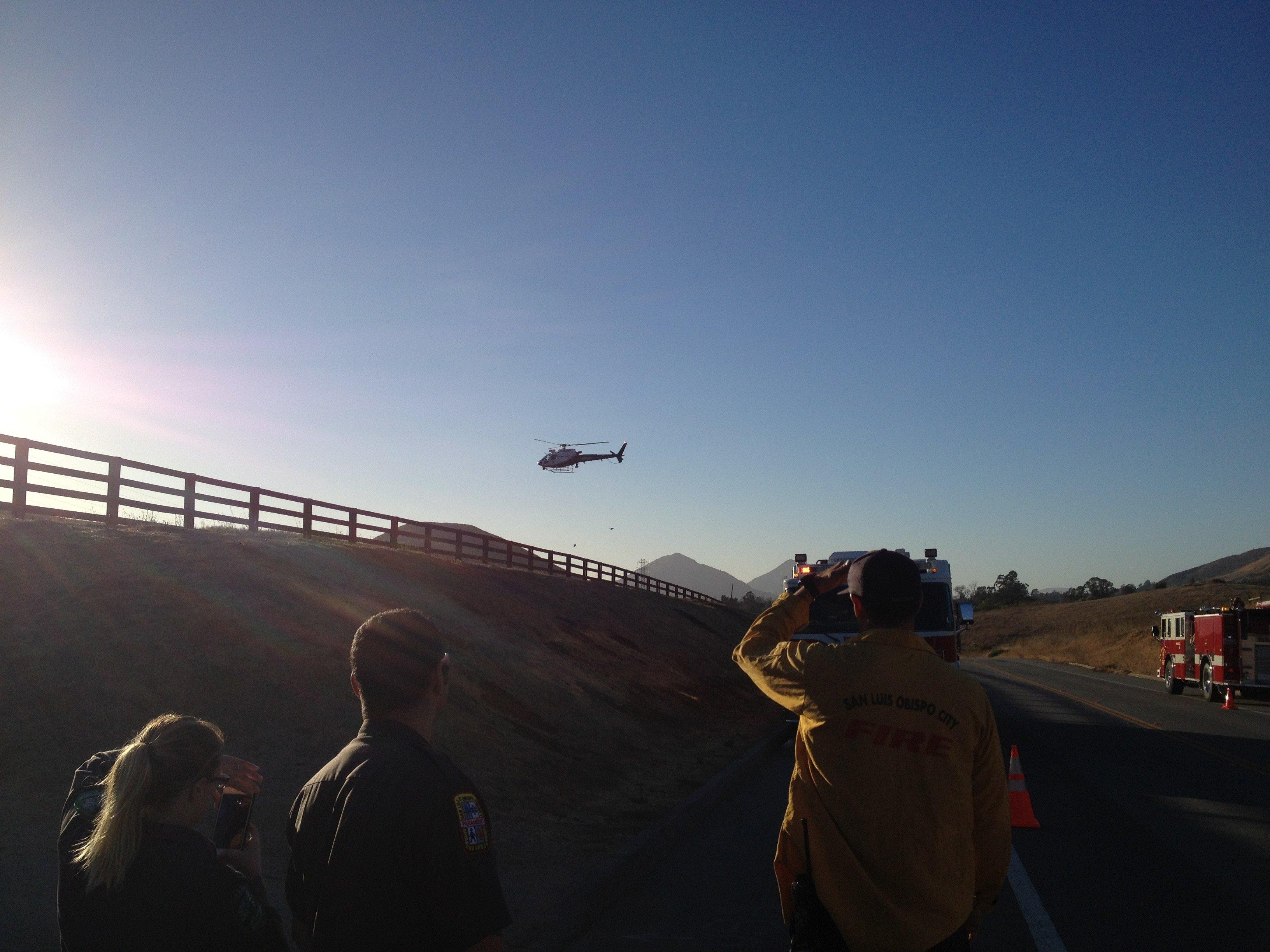 (Photo courtesy: San Luis Obispo City Fire Department)